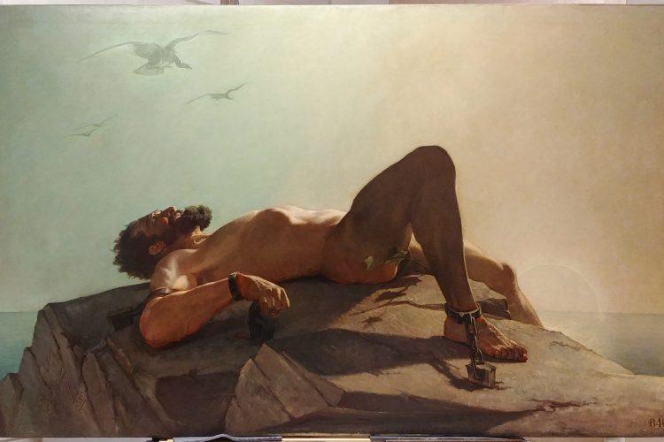 Restauration d'un tableau grand format pour le Musée des Beaux-Arts d'Orléans