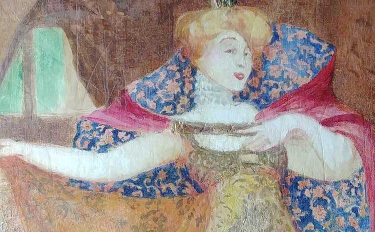 Restauration du cycle des contes de fées de la Villa Arnaga à Cambo-les-Bains, par l'artiste Jean Veber
